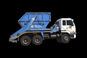 16 ton lift on skip unit (double axle)