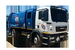 rear loader for otto bins